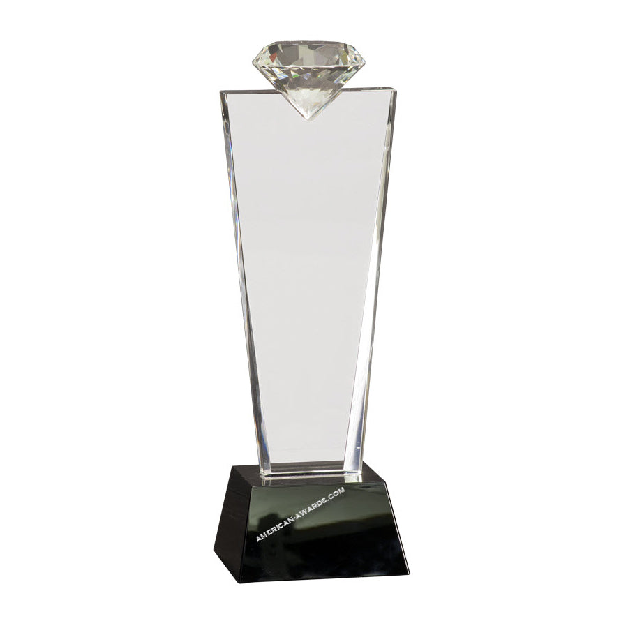 CRY3211 Crystal Diamond Award - American Trophy & Award Company - Los Angeles, CA 90022