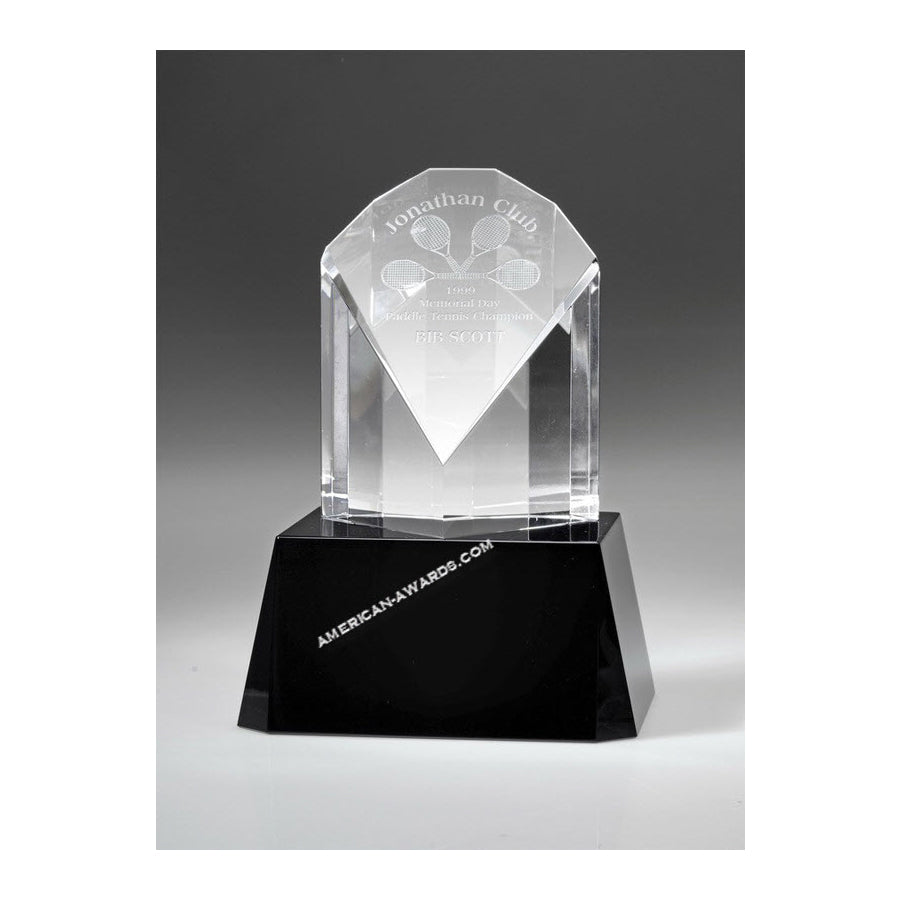 OC2755 Crystal Peacock Diamond Trophy - American Trophy & Award Company - Los Angeles, CA 90022