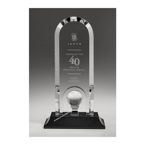 OCGL9010 | Crystal Optima Globe Award