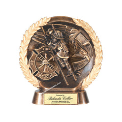 RFH535 American Hero Firefighter Award - American Trophy & Award Company - Los Angeles, CA 90022