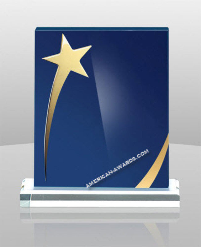 AT-708 Acrylic Shining Star Standing Plaque - American Trophy & Award Company - Los Angeles, CA 90022