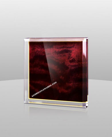 SM-44|Red Marble Color Paperweight