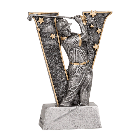 Male Golf Resin Trophy | Style V806