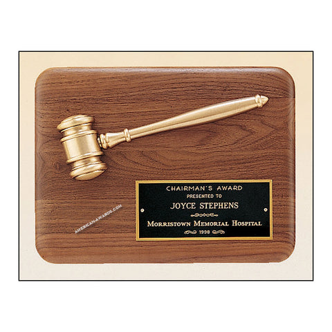 PG1686 |  Parliament Series Gavel Plaque