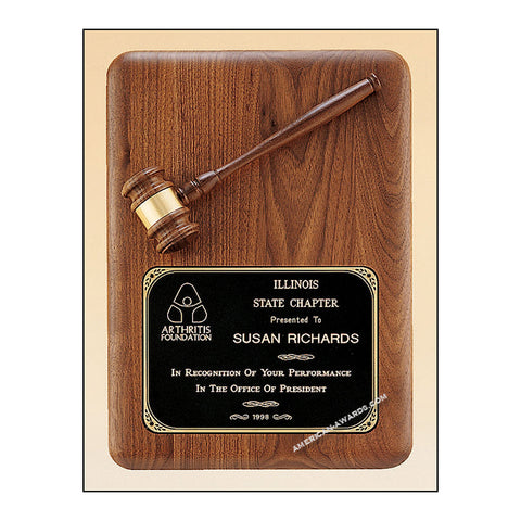 PG1687 |  Parliament Series Gavel Plaques