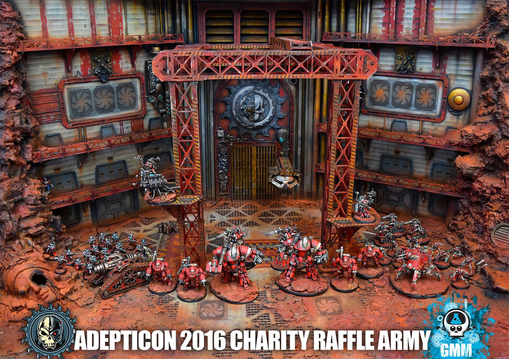 Check out Charity Raffle At Adepticon with GMM Studios