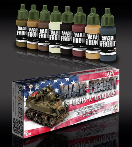 Scale75 US Army & Marines paint set