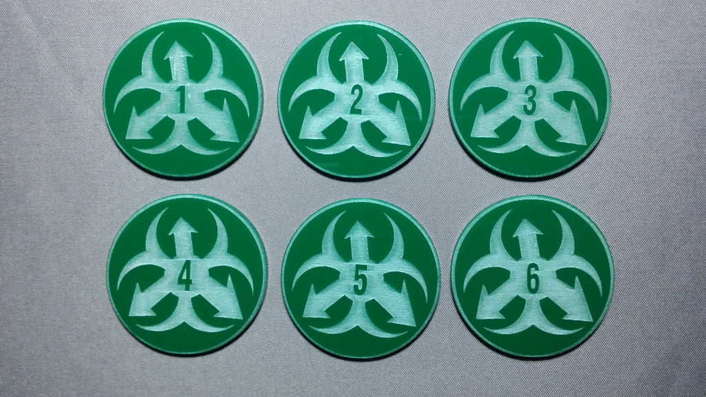 Biohazard Objective Markers