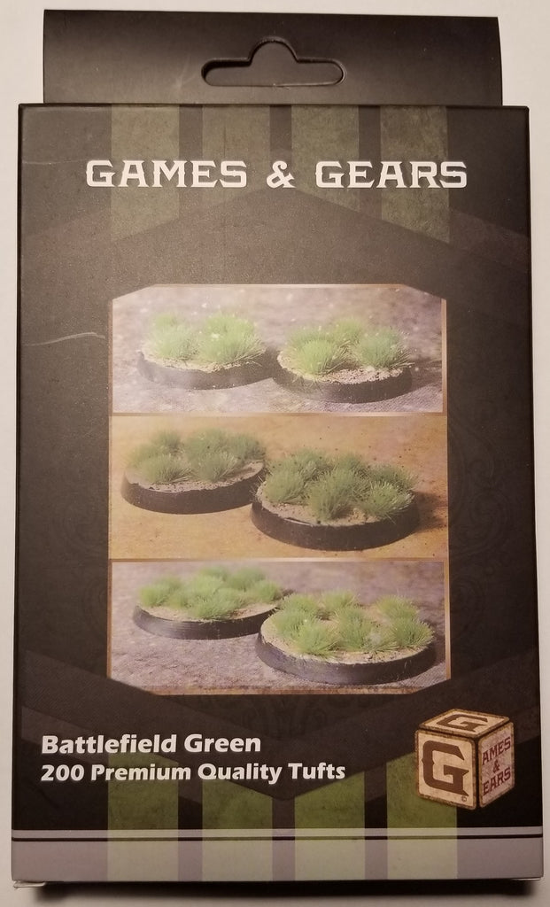 Games & Gears Battlefield Green Tufts