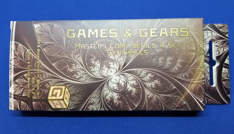 Games & Gears Masters Core Series 4 Synthetic Brush Set