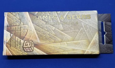Games & Gears Master Series 4 Kolinsky Sable Brush Set