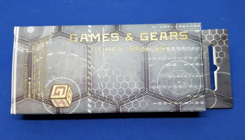 Games & Gears Technical Series 3 Brush Set