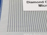 Airbrush Stencil Diamond Cheque Micro