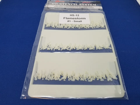 Airbrush Stencil Flamestorm Small