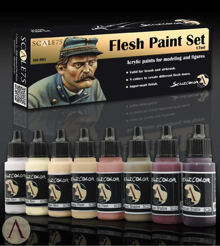 Scale75 Scalecolor Flesh paint set