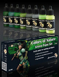 Scale75 Colors of Nature Green paint set