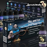 Scale75 Scalecolor Sky and Ice paint set
