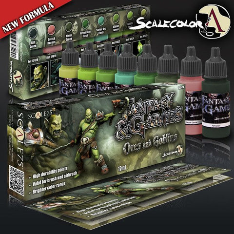 Scale75 Fantasy & Games Orcs and Goblins paint set