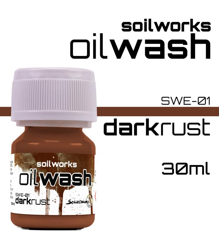 Scale75 Soilworks Dark Rust Oil wash
