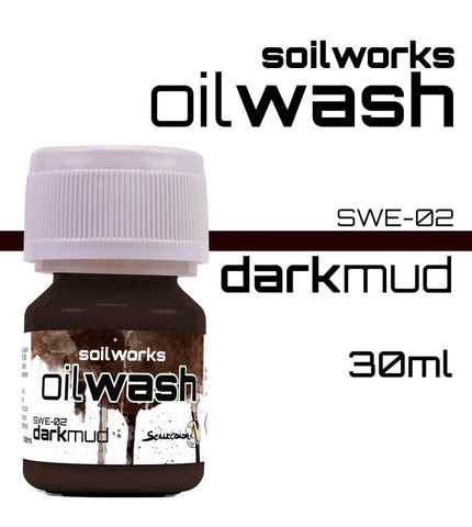 Scale75 Soil works Dark Mud Oil wash