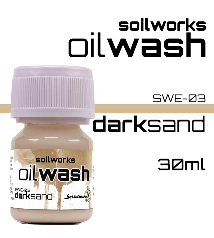 Scale75 Soil works Dark Sand Oil wash