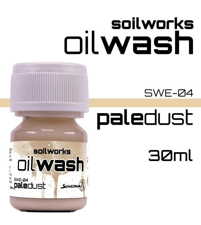 Scale75 Soil works Pale Dust Oil wash