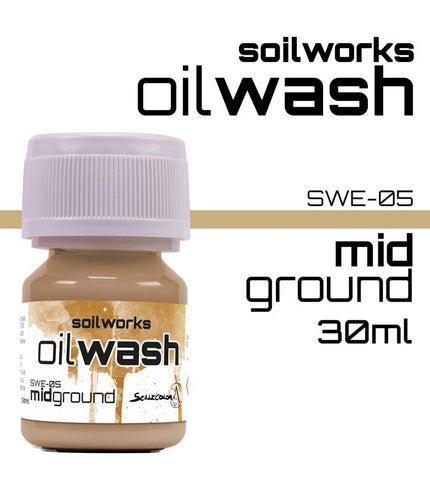 Scale75 Soil works Mid Ground Oil wash