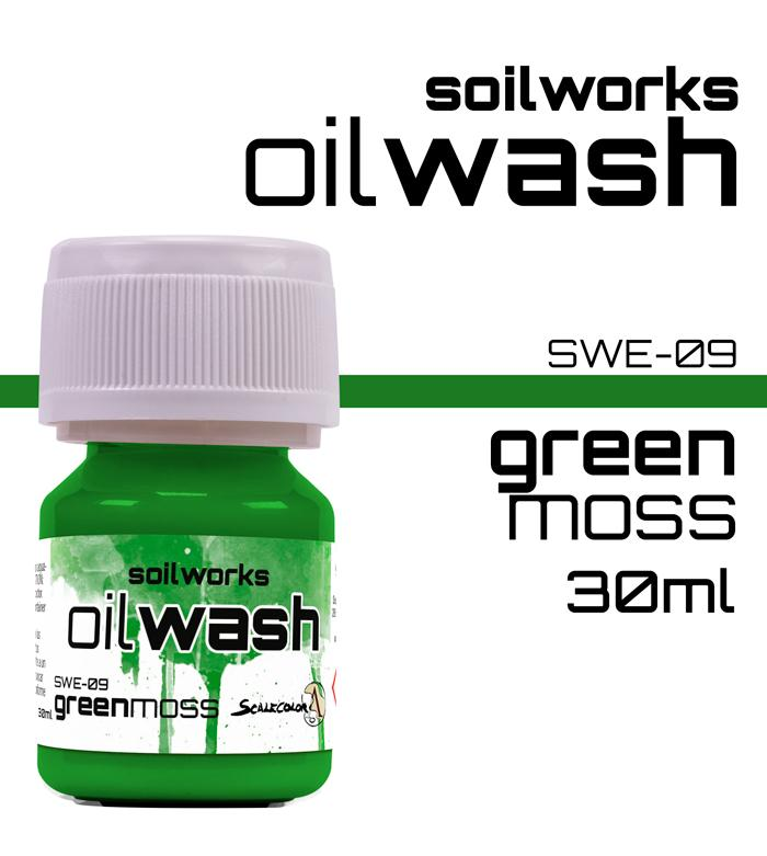 Scale75 Soil works Green Moss Oil wash