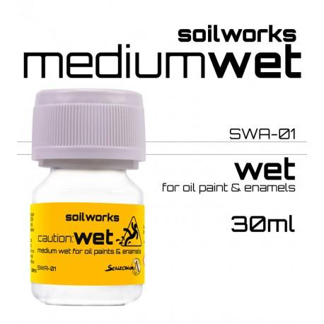 Scale75 Soil works Caution Wet Medium Gloss