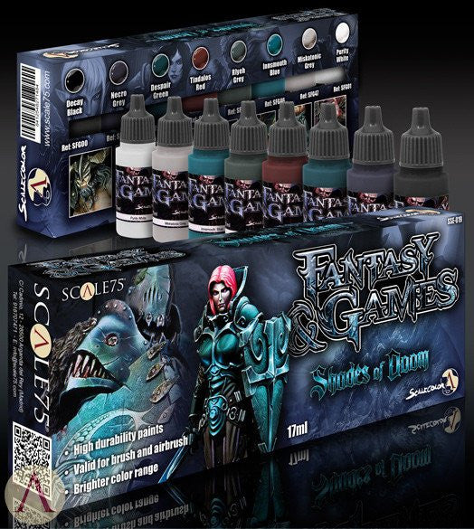 Scale75 Fantasy & Games Shades of Doom paint set