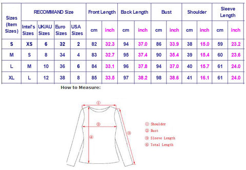 pullover dress hoodie size chart