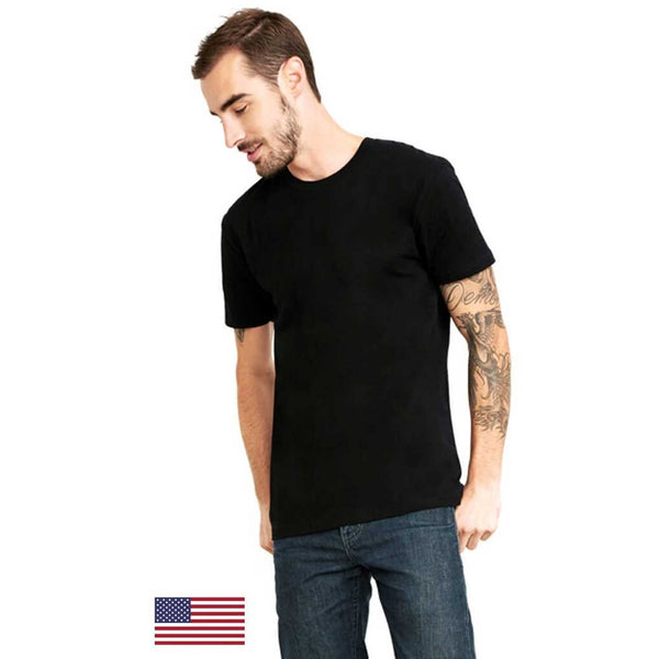 Next Level Men's Made in USA Cotton Crew - Rare Breed Apparel