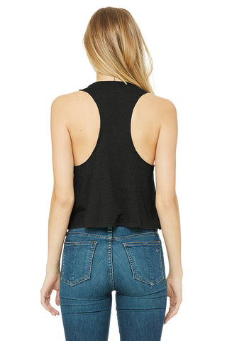 Racerback Cropped Tank - Rare Breed Apparel