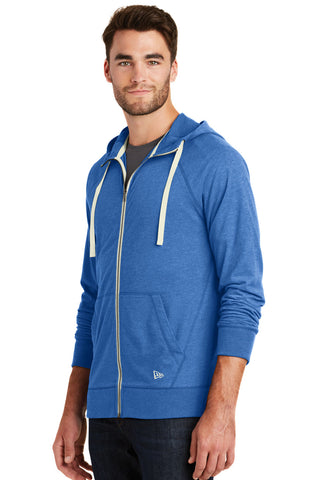 New Era® Mens Sueded Cotton Full-Zip Hoodie - Rare Breed Apparel