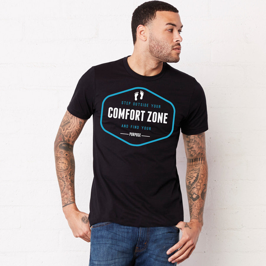 Step outside your comfort zone-Rare Breed Apparel-navy