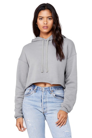 Cropped Fleece Hoodie - Rare Breed Apparel