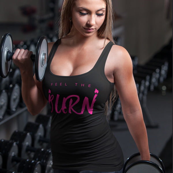 Feel the Burn Tank - Rare Breed Apparel