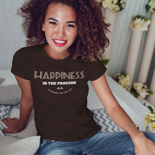 Happiness is the Process of Becoming Your Ideal Self - Rare Breed Apparel