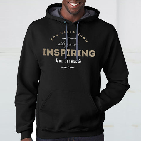 You Never Know Who You are Inspring Hoodie - Rare Breed Apparel