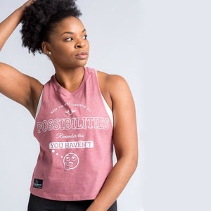 Racerback Crop Top - Rare Breed Apparel