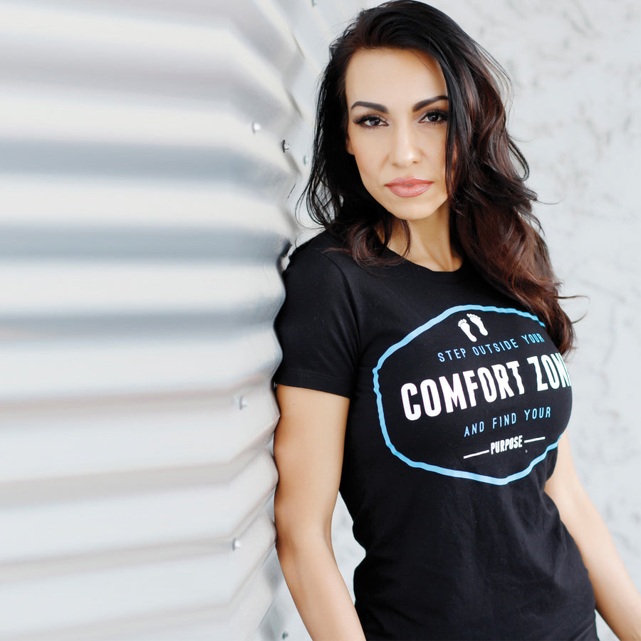 Step outside your comfort zone-Rare Breed Apparel-indigo