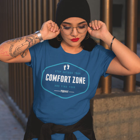 Step Outside Your Comfort Zone and Find Your Purpose - Rare Breed Apparel