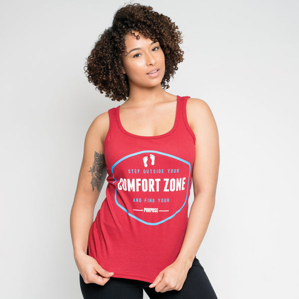 Step Outside Your Comfort Zone Tank - Rare Breed Apparel
