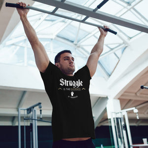 Struggle is the Evidence of Progress Semi-Fitted T-Shirt - Rare Breed Apparel