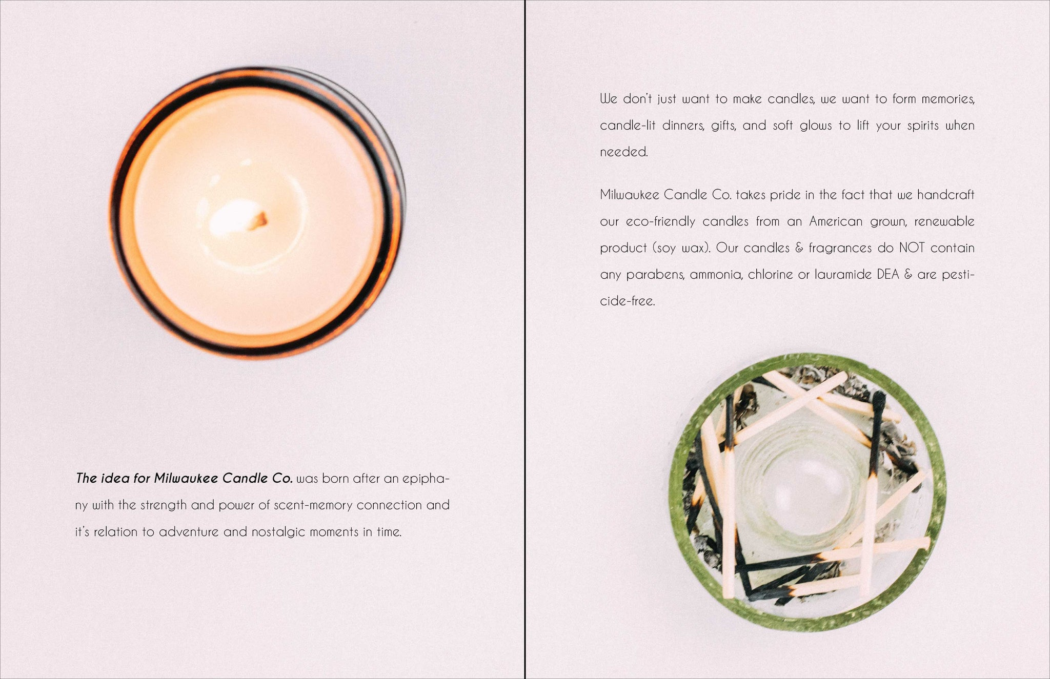 Milwaukee Candle Co. Look Book