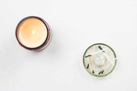 Milwaukee Natural Soy Candle Burning