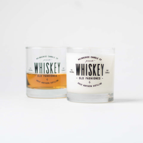 Whiskey Old Fashion // Soy Candle