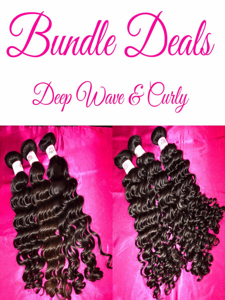 Bundle Deals (Deep Wave & Curly)