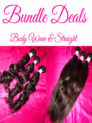Bundle Deals (Body Wave & Straight)
