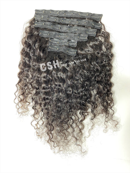 Cambodian Clip-Ins (Wavy & Curly)